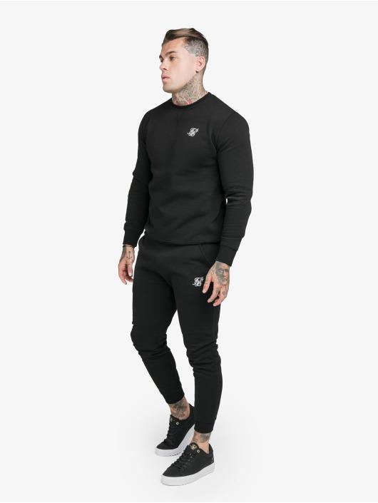 Sik Silk Spodnie do joggingu Muscle Fit czarny
