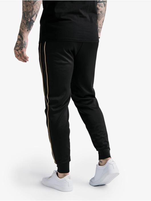 Sik Silk Spodnie do joggingu Astro Cuffed czarny