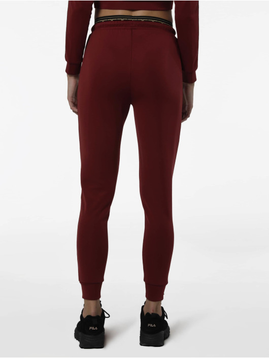 Sik Silk Spodnie do joggingu Athena Elastic czerwony