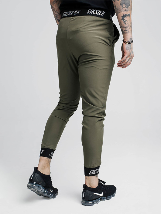 Sik Silk Spodnie do joggingu Pursuit khaki