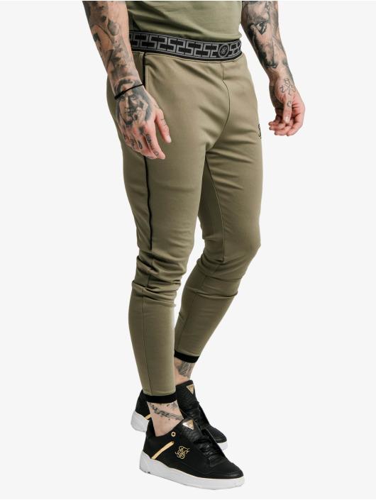 Sik Silk Spodnie do joggingu Scope khaki