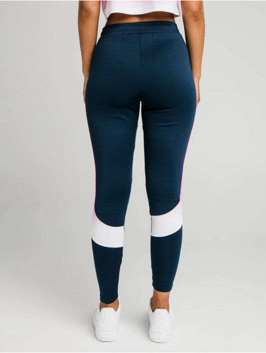 Sik Silk Spodnie do joggingu Fade Stripe Athlete niebieski