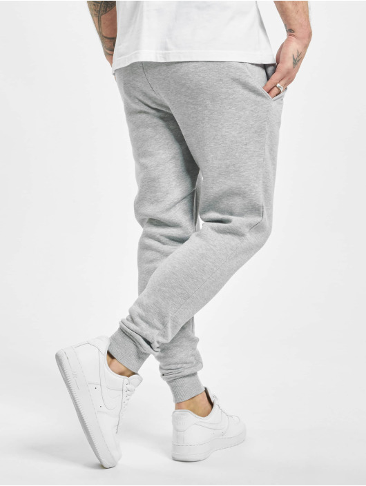 Sik Silk Spodnie do joggingu Muscle Fit szary
