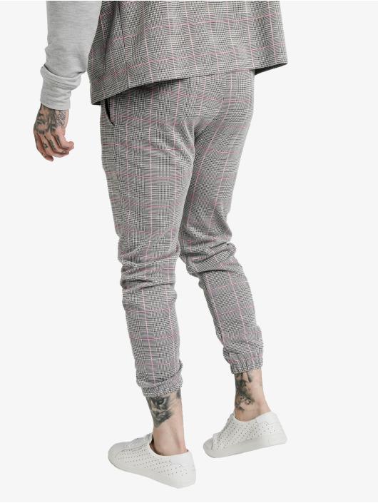 Sik Silk Spodnie wizytowe Smart Cuff szary
