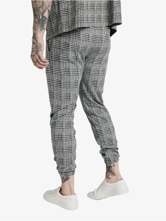 Sik Silk Stoffbukser Smart Cuff grå