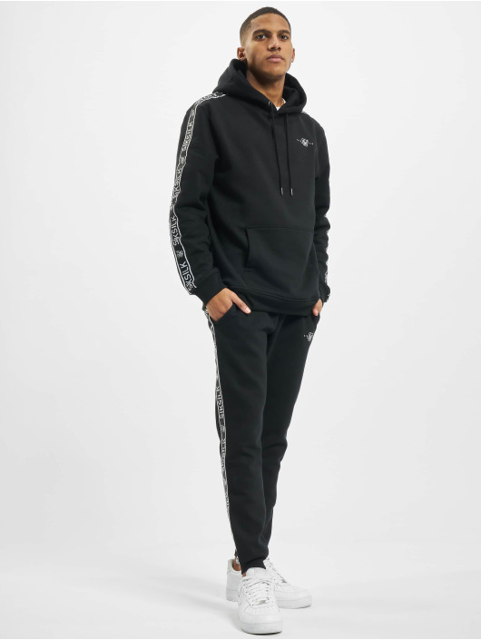 Sik Silk Suits Fleece Overhead black