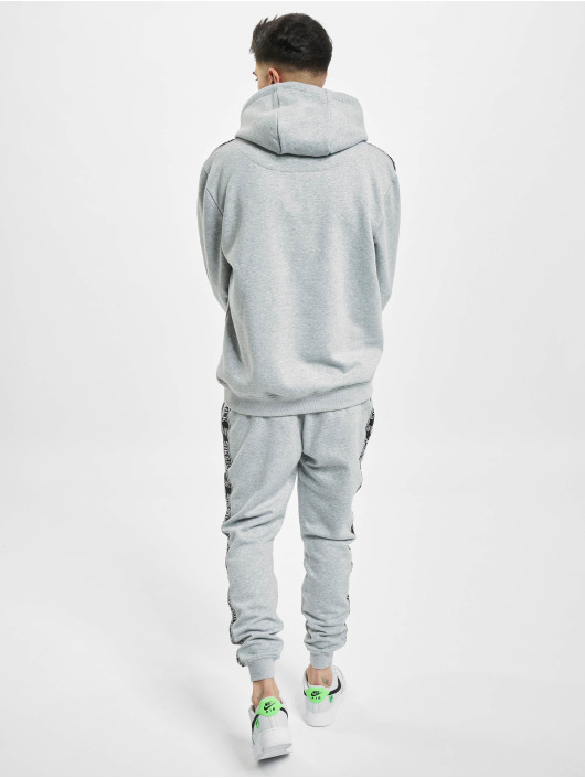 Sik Silk Suits Fleece Overhead grey