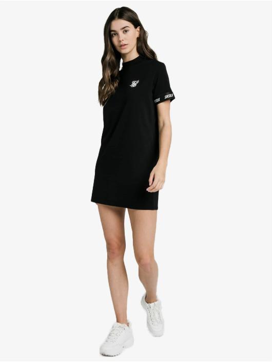 Sik Silk Sukienki Tech Tape czarny