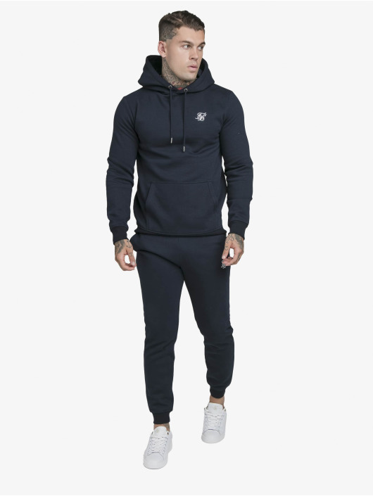 Sik Silk Sweat capuche Muscle Fit Overhead bleu