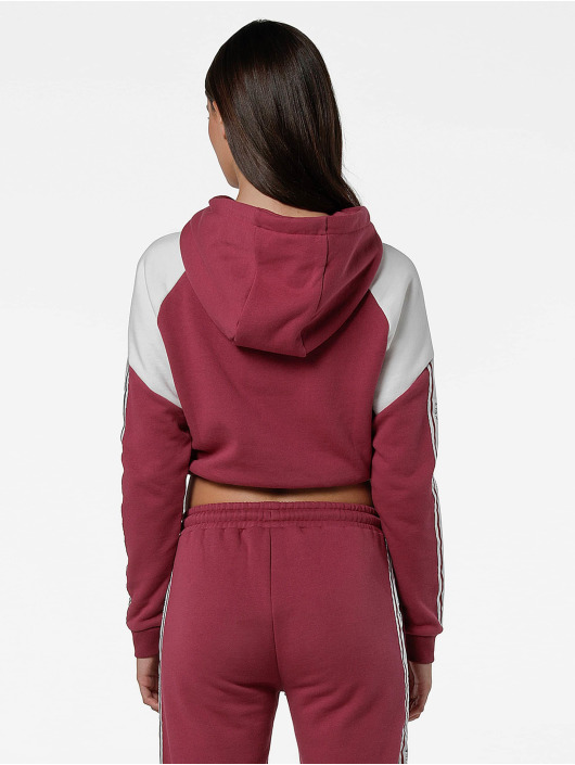 Sik Silk Sweat capuche Cropped Panel magenta