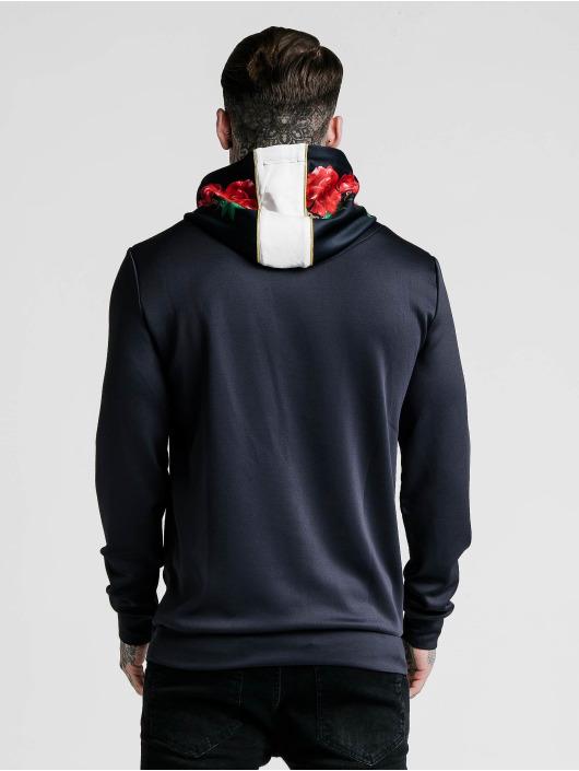 nike hoodie tape demi zip noir