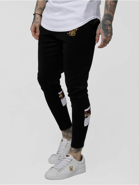 Sik Silk Sweat Pant Royal Venetian Sprint black