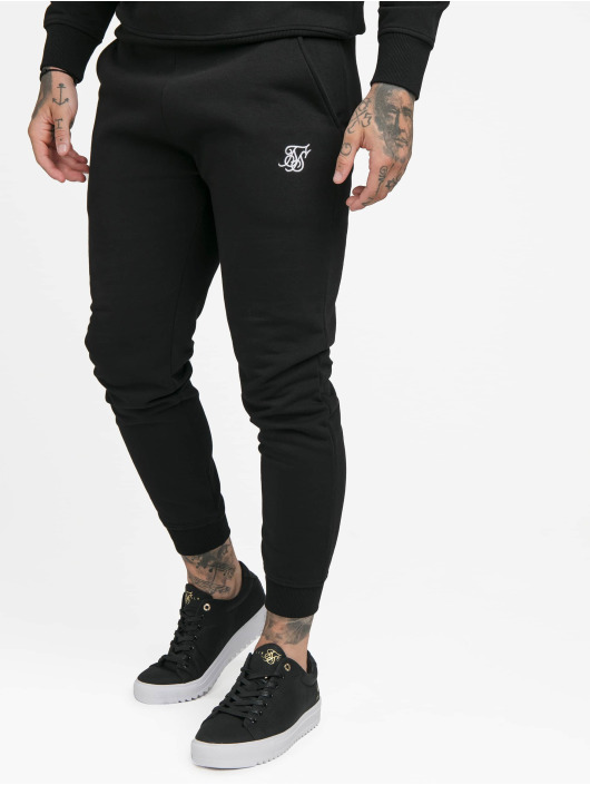Sik Silk Sweat Pant Muscle Fit black