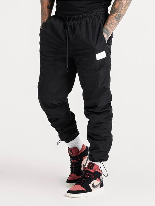 Sik Silk Sweat Pant Toggle Cuff black