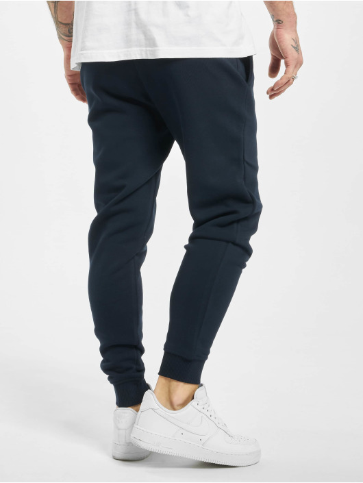 Sik Silk Sweat Pant Muscle Fit Jogger blue