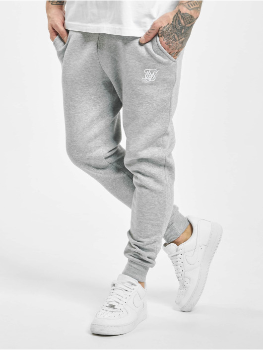 Sik Silk Sweat Pant Muscle Fit grey