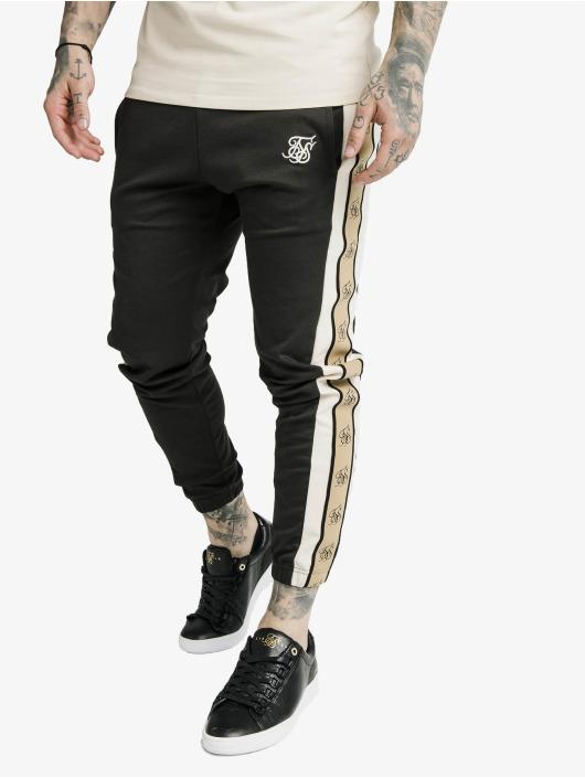 Sik Silk Sweat Pant Premium Tape grey