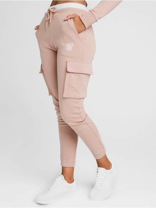 Sik Silk Sweat Pant Cargo rose