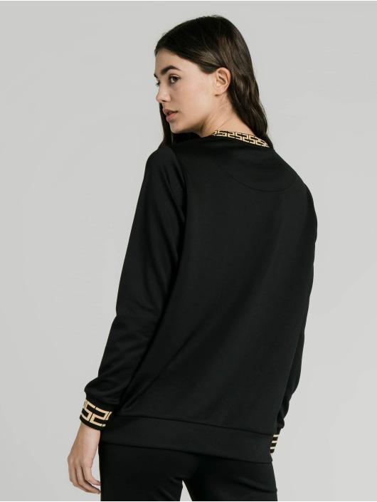 Sik Silk Swetry Luxury Poly czarny