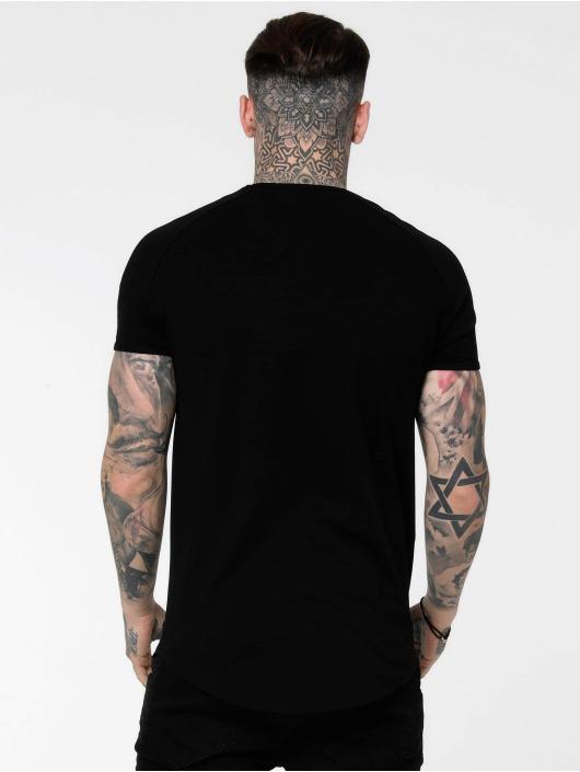 Sik Silk T-paidat Tape Gym musta