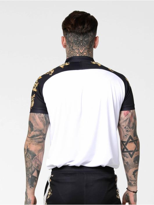 Sik Silk T-paidat Baseball valkoinen