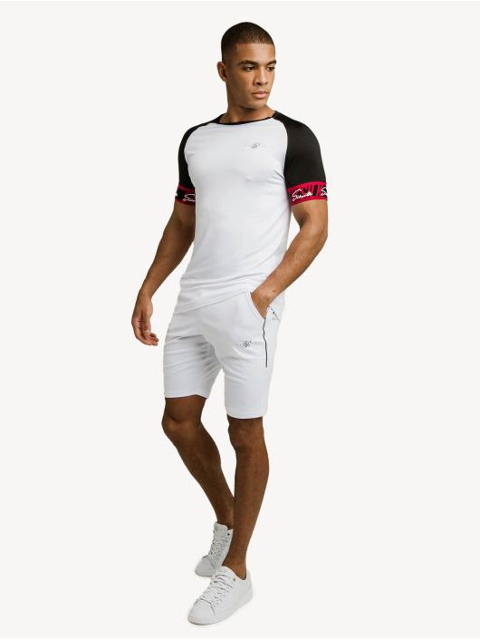 Sik Silk T-paidat Scope Tape Tech valkoinen