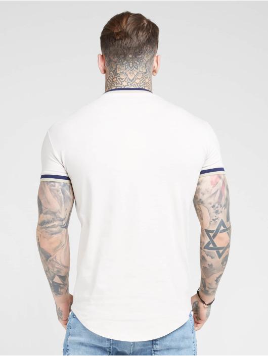 Sik Silk T-Shirt Rib Gym beige