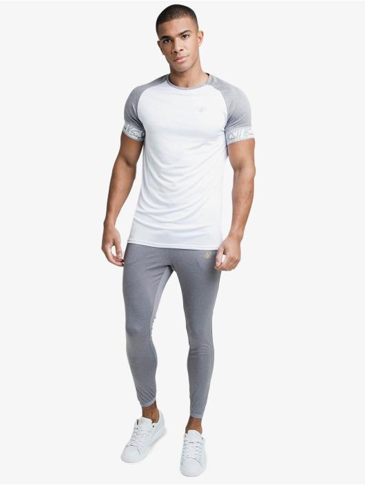 Sik Silk T-shirt Scope Tape Tech bianco