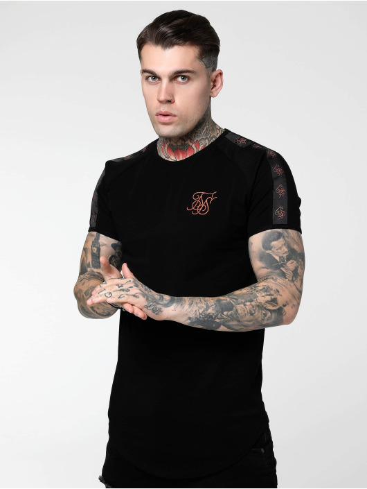 Sik Silk T-Shirt Tape Gym black