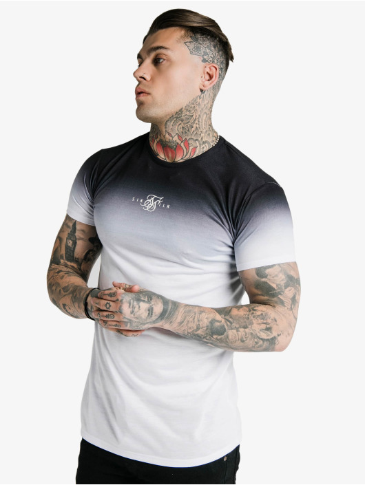 Sik Silk T-Shirt High Fade Box black