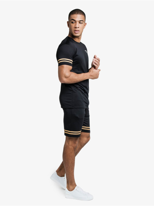 Sik Silk T-Shirt Mesh Bound Gym black