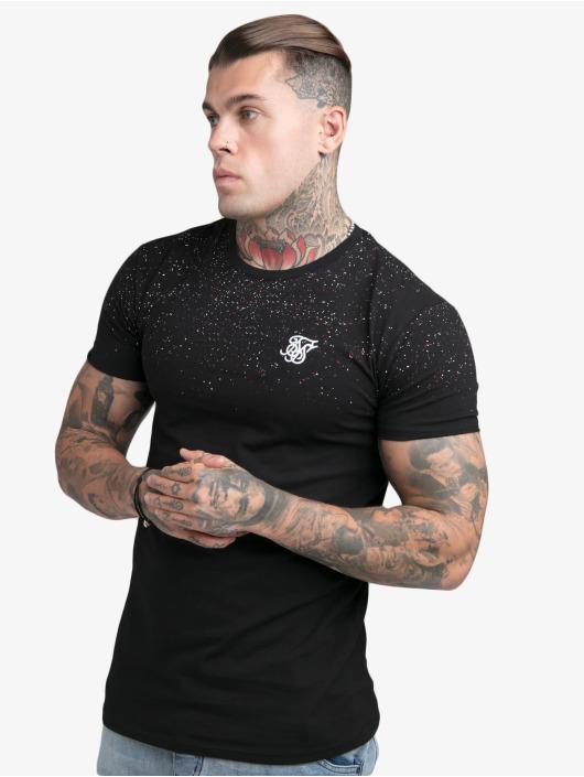 Sik Silk T-Shirt Speckle Gym black