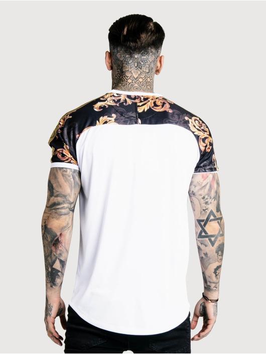 shirt 607800 Blanc Gym Curved Homme Sik T Silk Hem 8T0xqzq