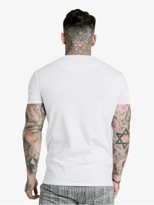 Sik Silk T-Shirt S/S Panel Smart blanc