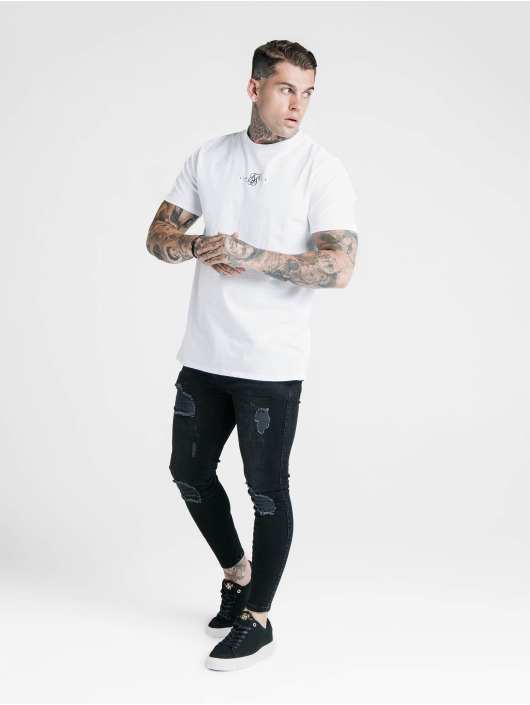 Sik Silk T-Shirt Basic Core blanc