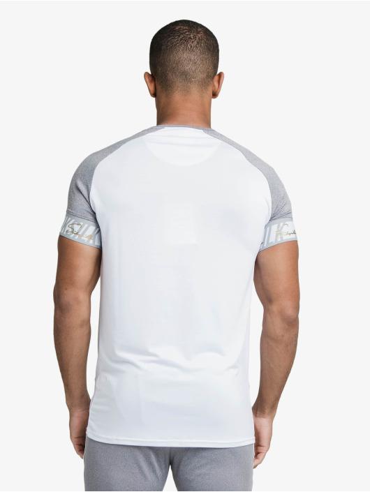 Sik Silk T-Shirt Scope Tape Tech blanc