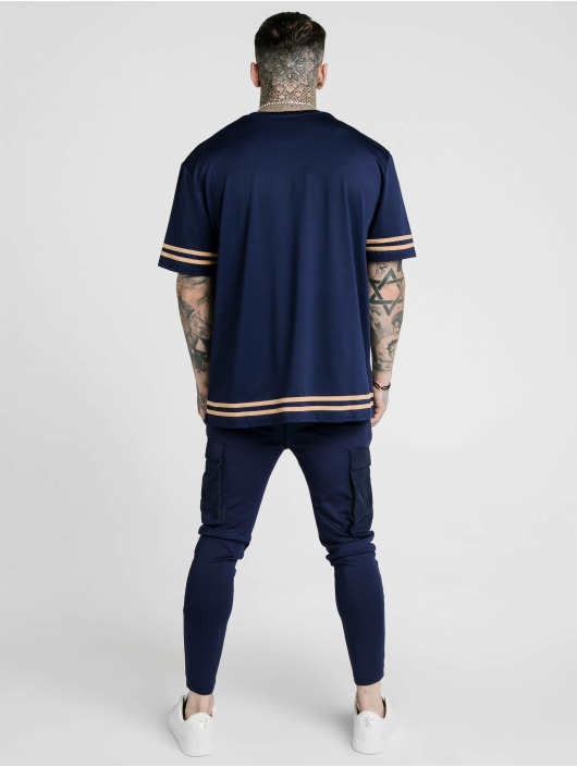 Sik Silk T-Shirt S/S Essential blau