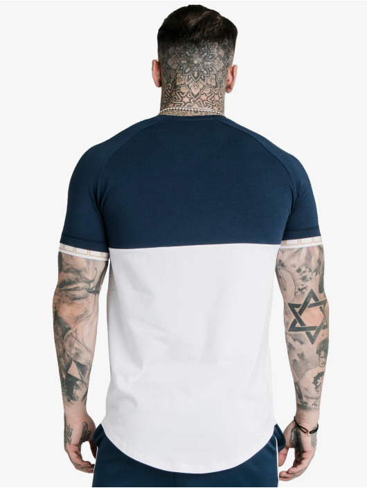 Sik Silk T-Shirt Cut & Sew Tech blau