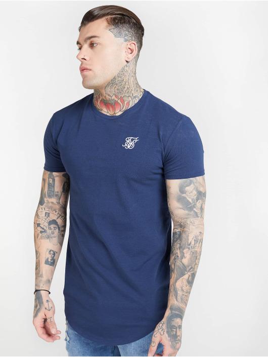 Sik Silk t-shirt Core Gym blauw