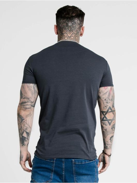 Sik Silk t-shirt Hem Gym blauw