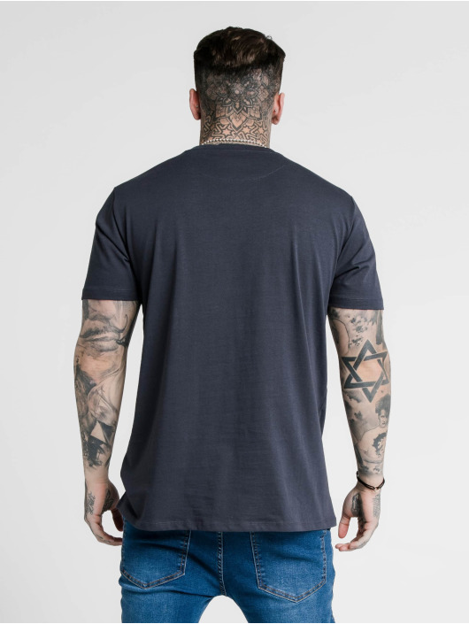 Sik Silk t-shirt Basic Core blauw