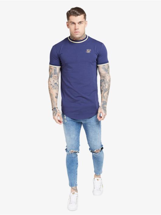 Sik Silk T-Shirt Rib Gym blue