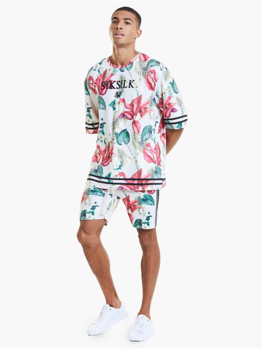 Sik Silk t-shirt Retro Tropics Essential bont
