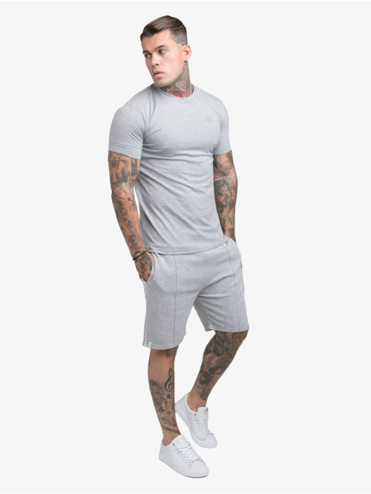 Sik Silk T-Shirt Smart Essentials grau