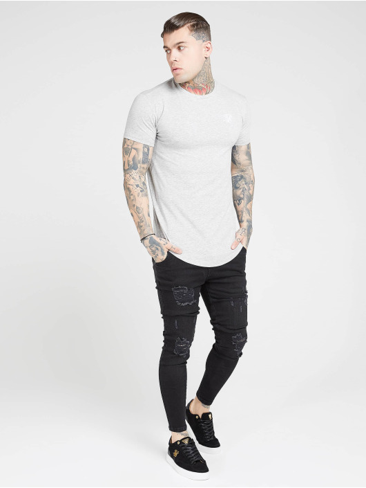 Sik Silk T-Shirt Core Gym grey