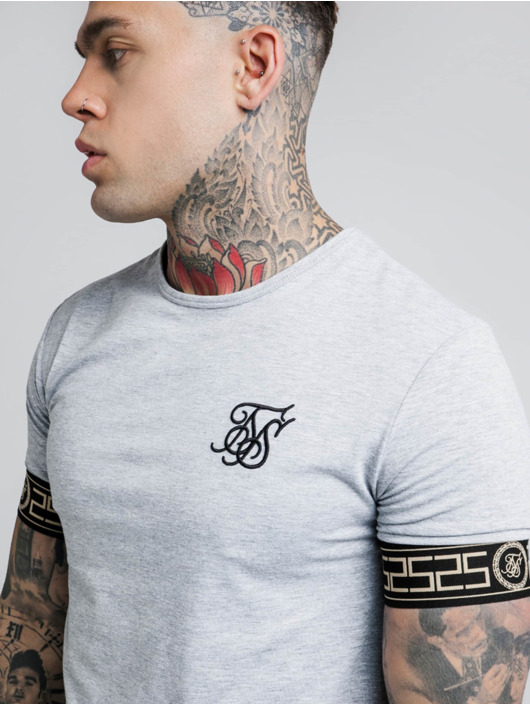 Sik Silk t-shirt Cartel Lounge grijs