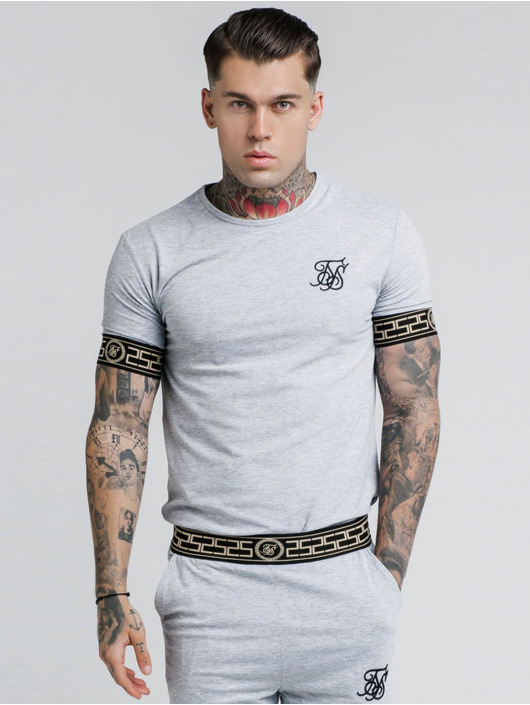 Sik Silk T-Shirt Cartel Lounge gris