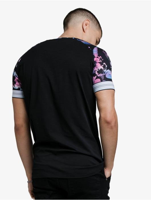 Sik Silk T-Shirt Hawaii Status Tech noir