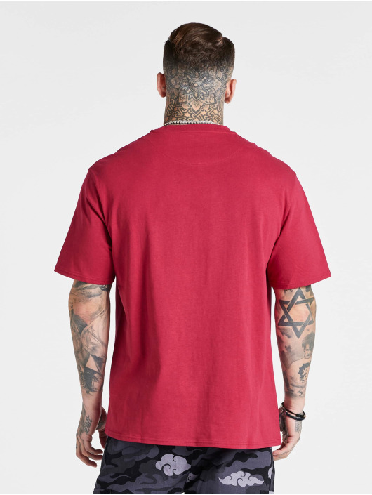 Sik Silk T-Shirt Aoki Oversized pink