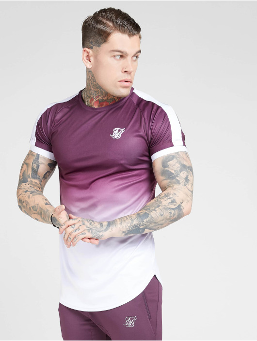 Sik Silk T-Shirt Fade Tech purple